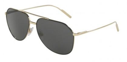 Dolce & Gabbana 0DG2166 1305/87 Black Pale Gold - Grey