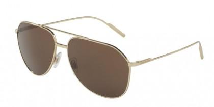 Dolce & Gabbana 0DG2166 488/73 Pale Gold - Brown