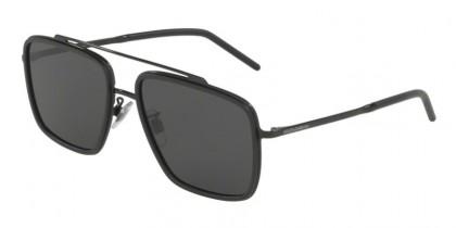 Dolce & Gabbana 0DG2220 01/87 Black/Matte Black - Grey