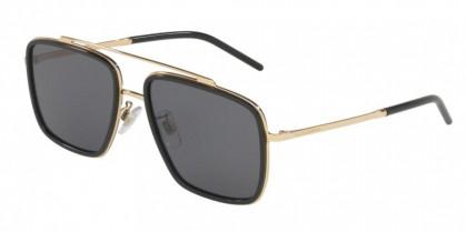 Dolce & Gabbana 0DG2220 02/81 Gold/Black - Polar Grey