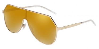 Dolce & Gabbana 0DG2221 488/7P Pale Gold - Brown Mirror Gold