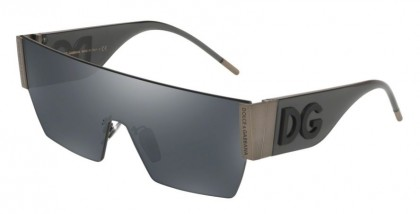 Dolce & Gabbana 0DG2233 12866G Matte Dark Gunmeal - Grey Mirror Black