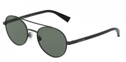 Dolce & Gabbana 0DG2245 11069A Matte Black - Polar Green