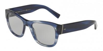 Dolce & Gabbana 0DG4338 3065M3 Striped Blue - Photo Grey Uv Cut
