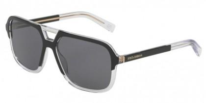 Dolce & Gabbana 0DG4354 501/81 Matte Black - Polar Grey
