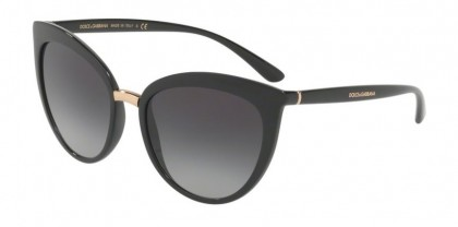 Dolce & Gabbana 0DG6113 501/8G Black - Grey Gradient