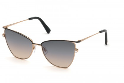 DSquared2 DQ0301 33B Black Rose Gold - Grey Pink Shaded