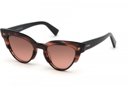 DSquared2 DQ0306 74S Striped Orange - Red Shaded
