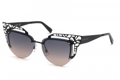 DSquared2 DQ0312 02B Black - Smoke Shaded