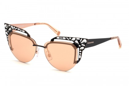 DSquared2 DQ0312 33Z Black - Pink