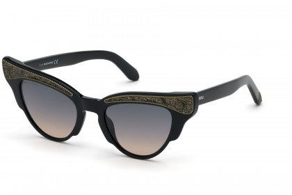 DSquared2 DQ0313 01B Black - Smoke Pink Shaded