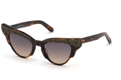 DSquared2 DQ0313 52B Havana - Smoke Pink Shaded