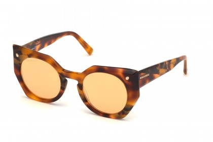 DSquared2 DQ0322 53G Blonde Havana - Brown