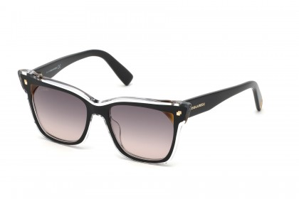 DSquared2 DQ0323 01B Black Crystal - Grey Shaded