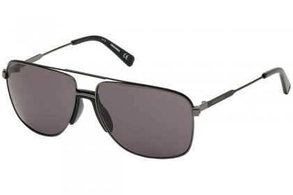 DSquared2 DQ0342 BARNEY 08A Shiny Anthracite - Smoke