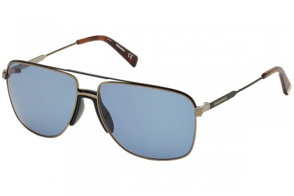 DSquared2 DQ0342 BARNEY 45V Shiny Light Brown - Blue