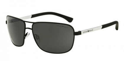 Emporio Armani 0EA2033 309487 Black Rubber - Grey