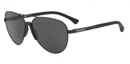 Emporio Armani 0EA2059 320387 Matte Black - Grey