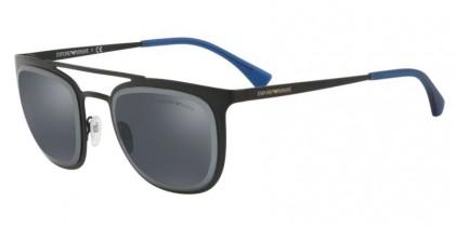 Emporio Armani 0EA2069 301455 Matte Black - Blue Mirror Blue