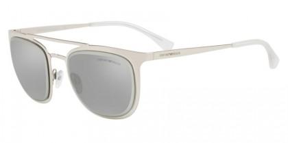 Emporio Armani 0EA2069 30156G Silver - Light Grey Mirror Silver
