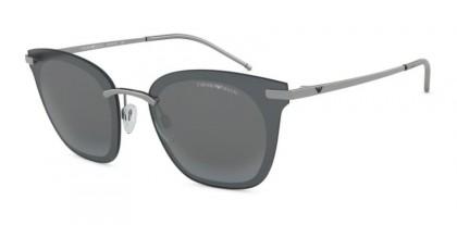 Emporio Armani 0EA2075 30106G Gunmetal - Grey Mirror Black