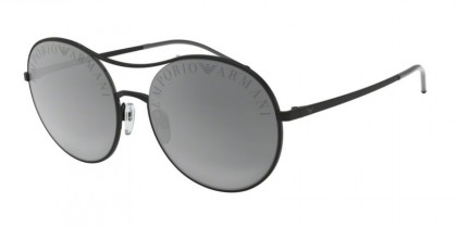 Emporio Armani 0EA2081 30016G Matte Black - Light Grey Mirror Black