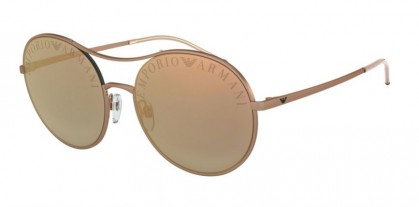 Emporio Armani 0EA2081 30044Z Matte Rose Gold - Grey Mirror Rose Gold