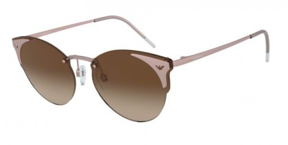 Emporio Armani 0EA2082 300413 Matte Rose Gold - Brown Gradient