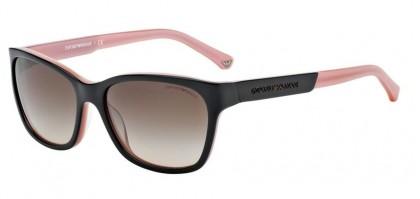 Emporio Armani 0EA4004 EA4004 504613 Black Opal Pink - Brown Gradient