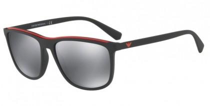 Emporio Armani 0EA4109 50426G Matte Black - Light Grey Mirror Black