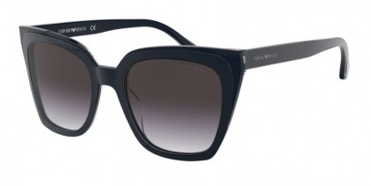 Emporio Armani 0EA4127 57438G Trilayer Crystal Blue - Grey Gradient