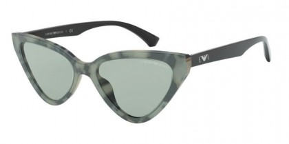 Emporio Armani 0EA4136 5794/2 Green Havana - Light Green