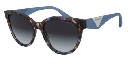 Emporio Armani 0EA4140 579719 Blue Havana - Gradient Grey Light Blue