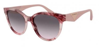 Emporio Armani 0EA4140 579813 Havana Pink Bordeaux - Gradient Grey Pink
