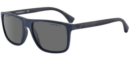 Emporio Armani MODERN (AR) 0EA4033 523087 Top Blue Brown Rubber - Grey