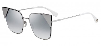 Fendi FF 0191/S 010 (IC) Palladium Gray - Gray Gradient Mirror