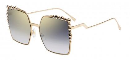 Fendi CAN EYE FF 0259/S J5G/FQ Gold - Grey Gradient
