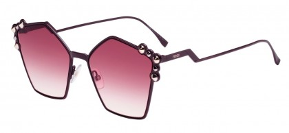Fendi CAN EYE FF 0261/S 0T7/3X Plum - Pink Gradient