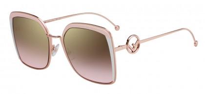 Fendi FF 0294/S 35J (53) Pink - Gold Gradient Pink