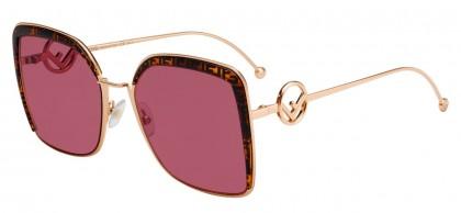 Fendi F IS FENDI FF 0294/S DDB/4S Gold - Pink