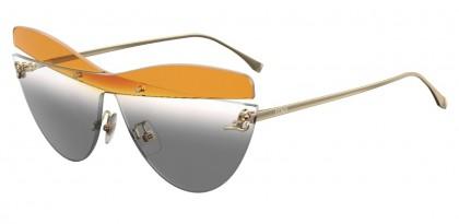 Fendi KARLIGRAPHY FF 0400/S XYO/9O Gold - Orange Grey