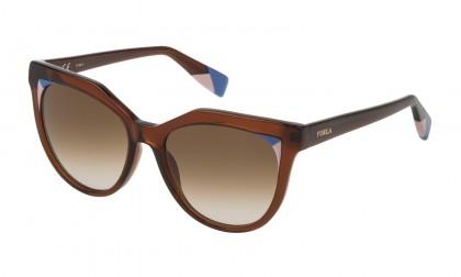 Furla SFU231 0958 Brown Olive Shiny - Brown Gradient