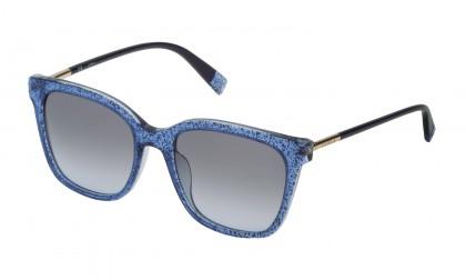 Furla SFU233 0WA2 Blue Glitter Shiny - Smoke Gradient Blue