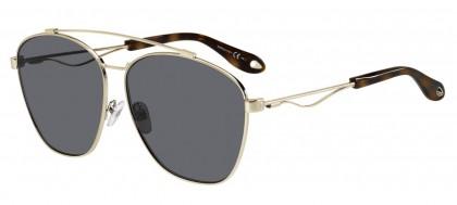 Givenchy GV 7049/S 3YG (IR) Light Gold - Grey Blue