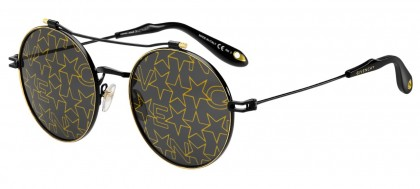 Givenchy GV 7079/S 2M2 (7Y) Black Gold - Gold Decor