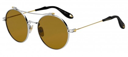 Givenchy GV 7079/S B1Z (70) Silver Gold - Brown