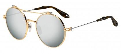 Givenchy GV 7079/S NIP (T4) Gold Ruthenium - Black Flash Mirror