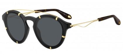 Givenchy GV 7088/S 2M2 (IR) Black Gold - Gray