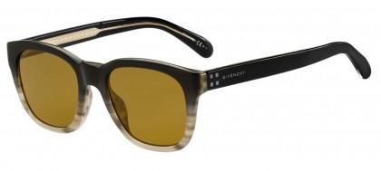 Givenchy GV 7104/G/S 21B/70 Black Beige - Light Brown