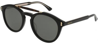 Gucci GG0124S-001 Black Black - Havana Grey